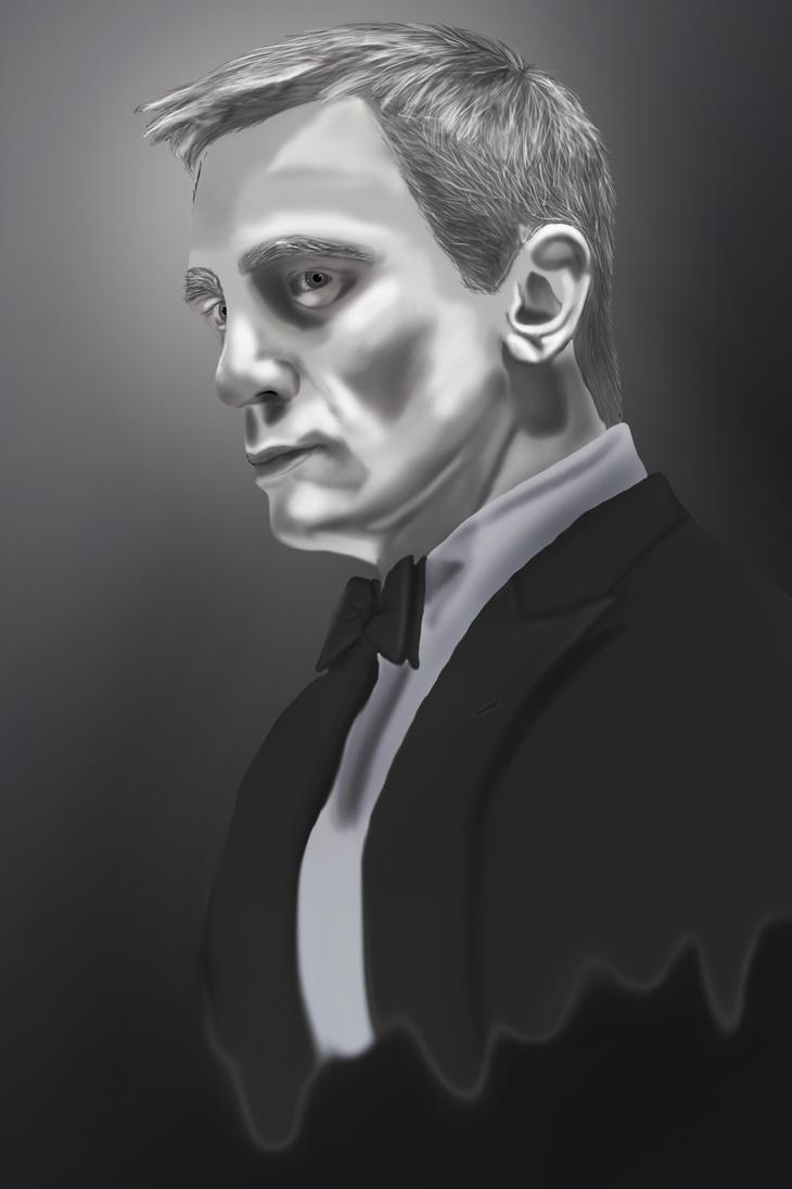 James Bond by Marceleen