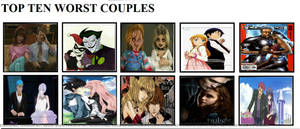 My Top 10 Worst Couples