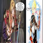 Super Skybound Art Pose: Jaune x Zeta by jctdragonwarrior