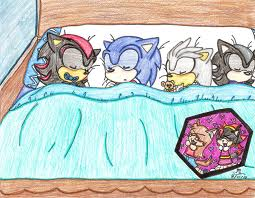 baby shadow,sonic,silver,and mephiles by laura755n