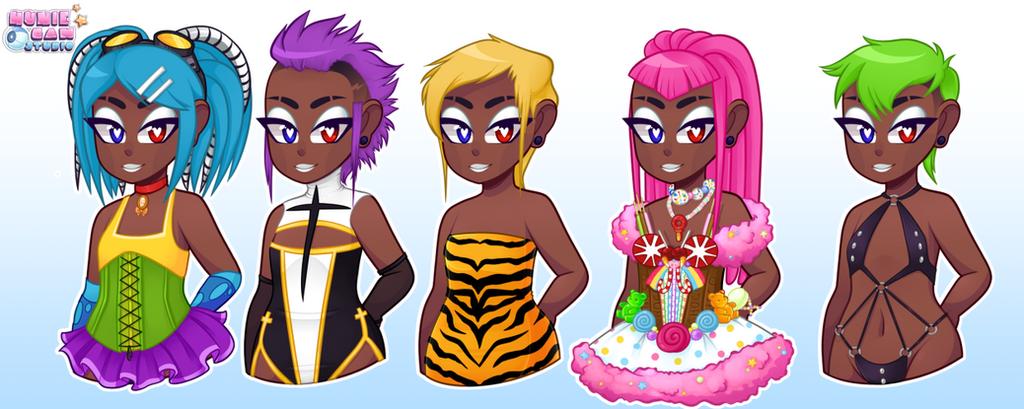 Zoey: HunieCam Studio by SoulKillur