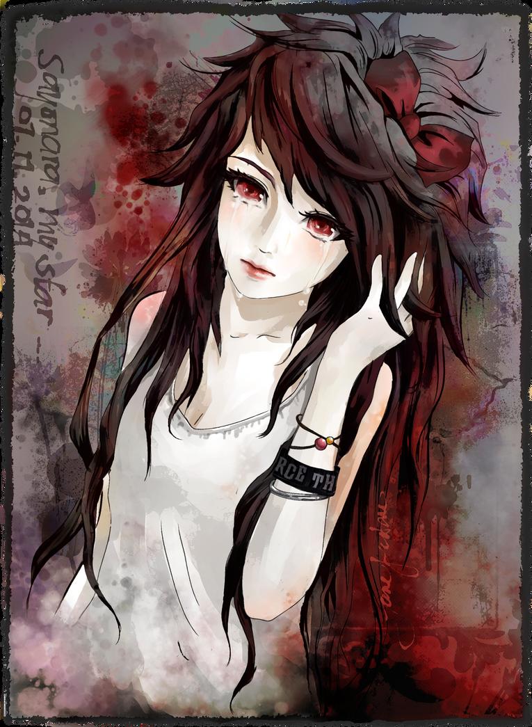 Sayonara, my star. | [OC] by mijanee