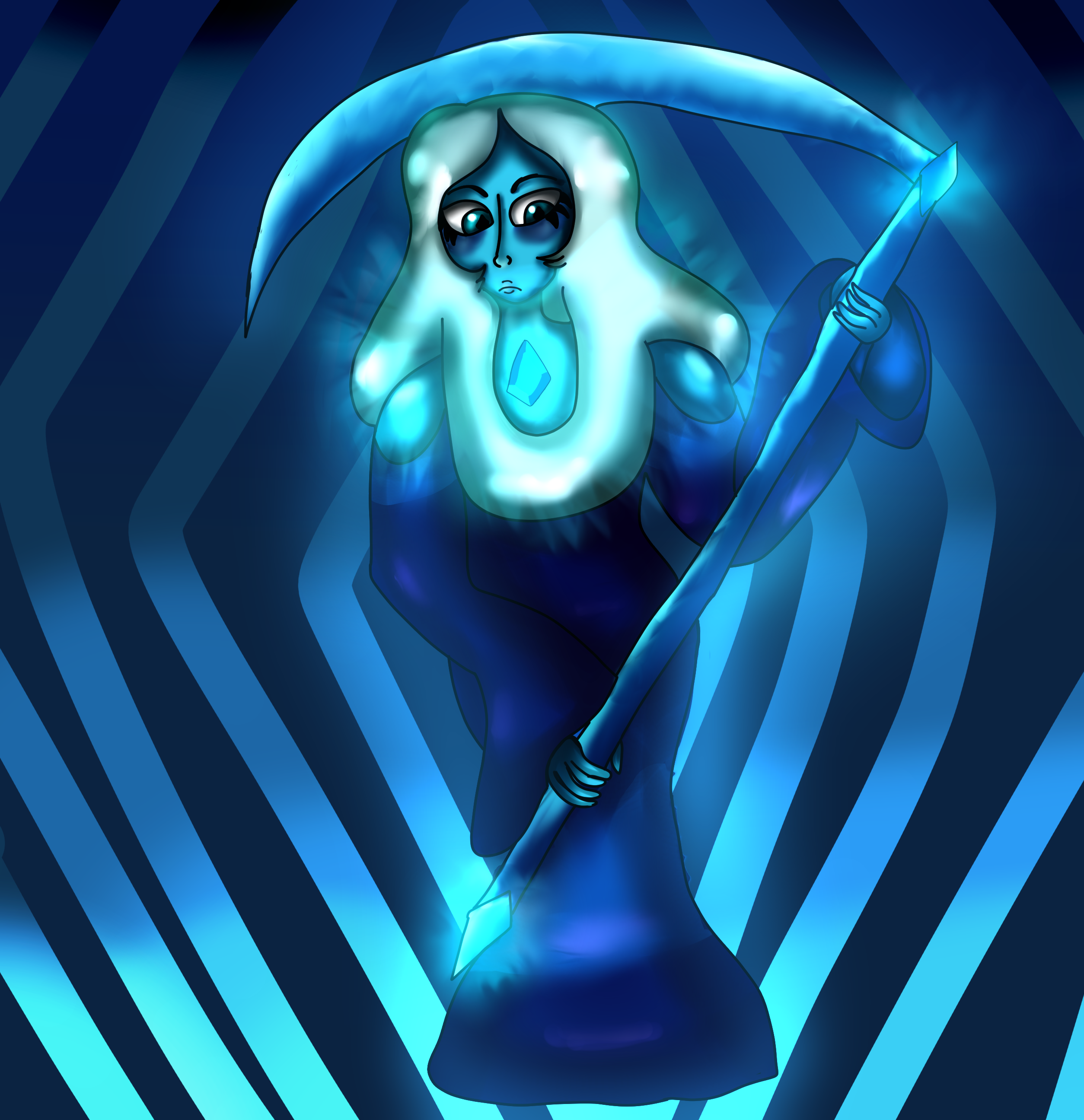 blue diamond on art bluediamond final deviantart by