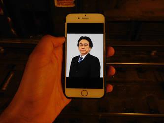 Mr Iwata... by SubwayArtist47