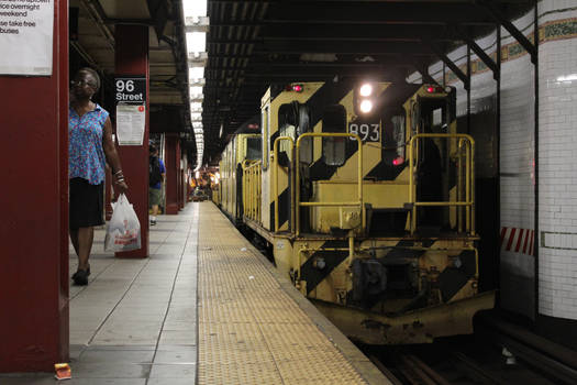 Work Train 893 at 96th Street