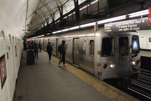 R46 (A) train at 181st Street