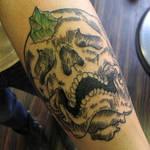 etching skull