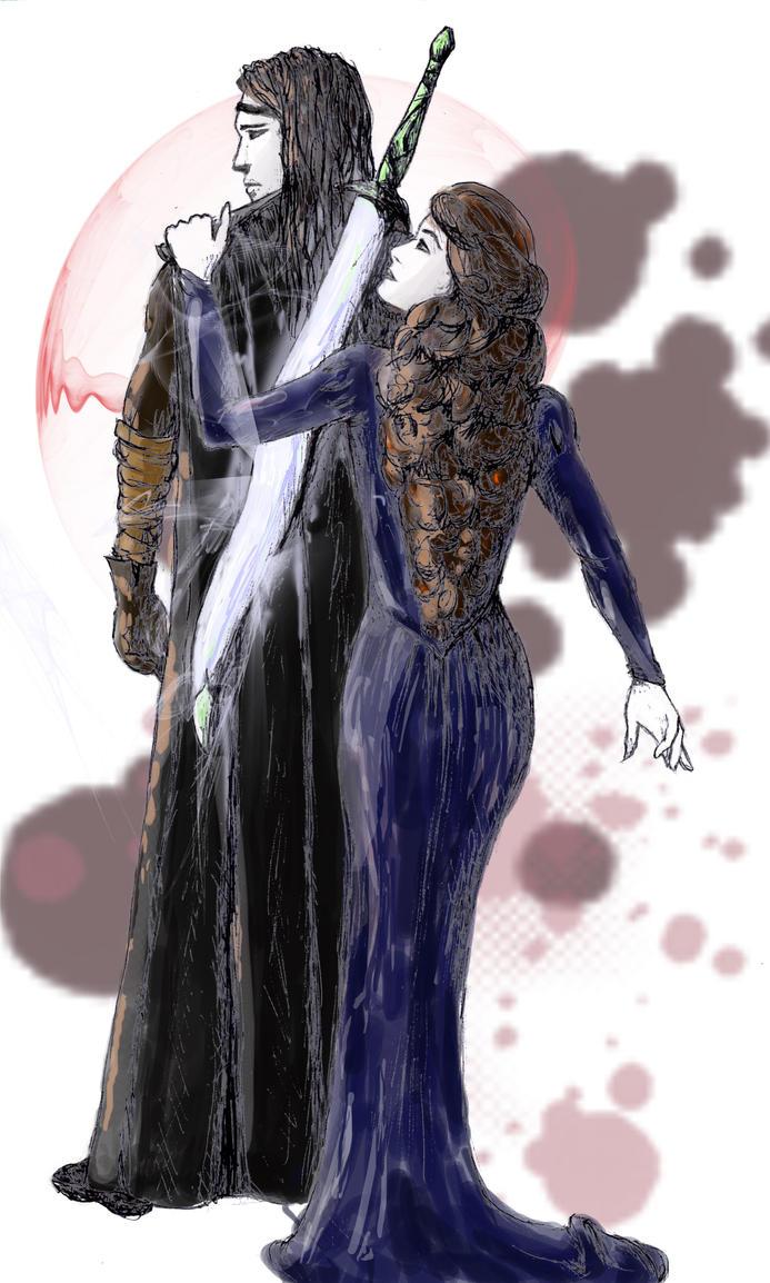Morghiad and Dorinna by HOCHarles