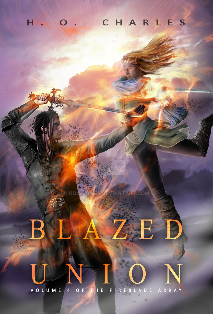 Cover art for Blazed Union by HOCHarles