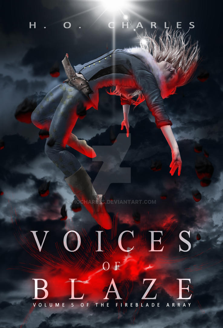 Cover Design for Voices of Blaze by HOCHarles