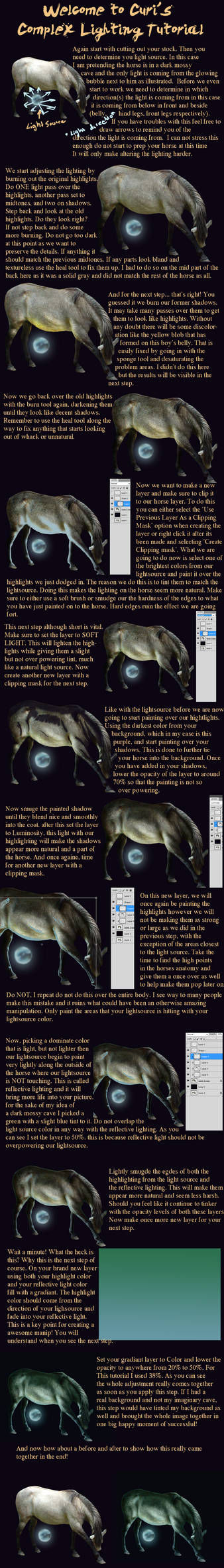 Curi's Tutorials: Changing the Lighting