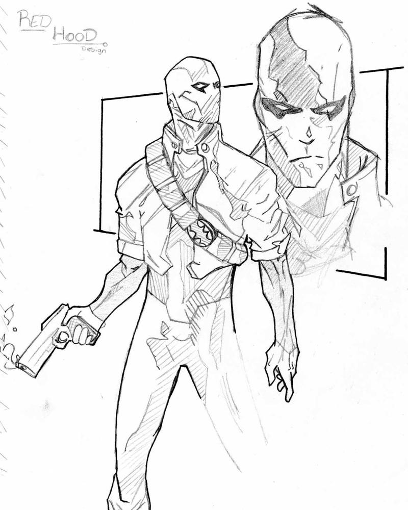 jason todd coloring pages - photo#15