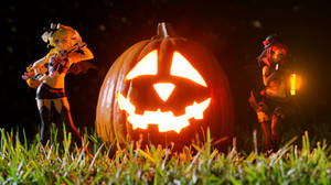 Eli x Maki Halloween 2018 by Chocolate-Spider
