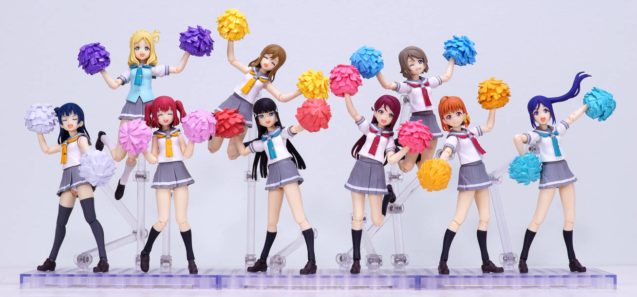Love Live Sunshine Figmas by Chocolate-Spider