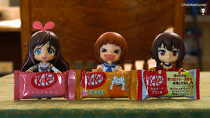Kit Kat Bars