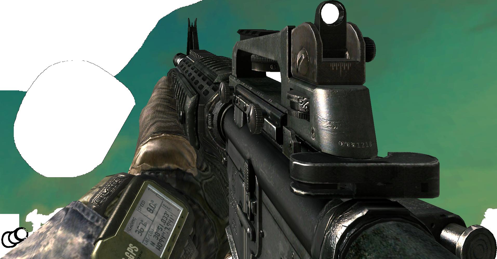 M16A4 [MW2] by Excadriller on DeviantArt M16a4 Mw2