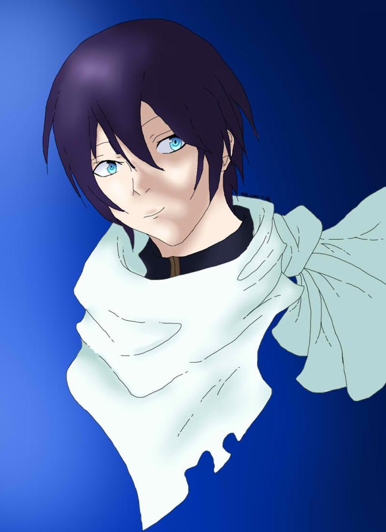 Yato (Noragami) by silveralchemist21