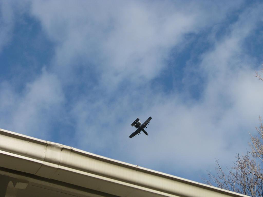 A-10 overhead by skbrainstorm42