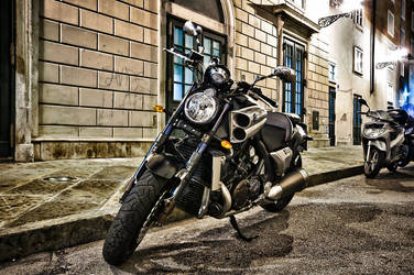 Trieste motorcycle HDR by Alyo