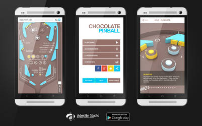Chocolate Pinball by Alyo
