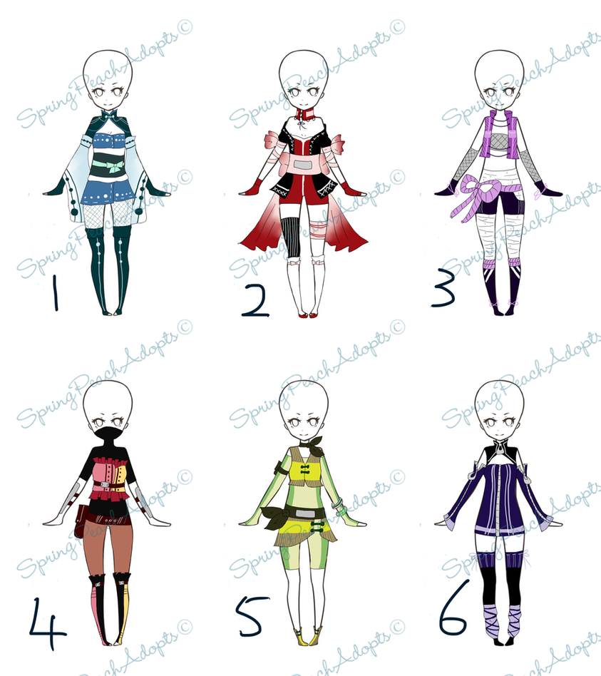 Download Anime Days Batch: Outfit Auction Batch 2