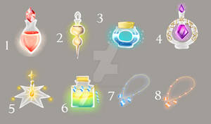 Potions and necklaces (OPEN)