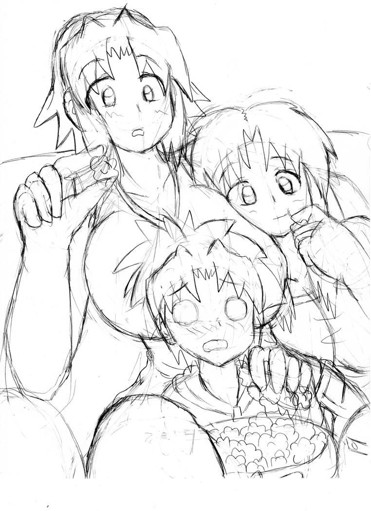 Movie Night by animeister