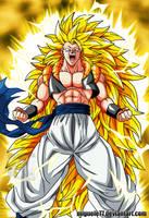 Gogeta Super Saiyan 3 by Miguele77