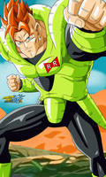 Dragon Ball Z - Android 16