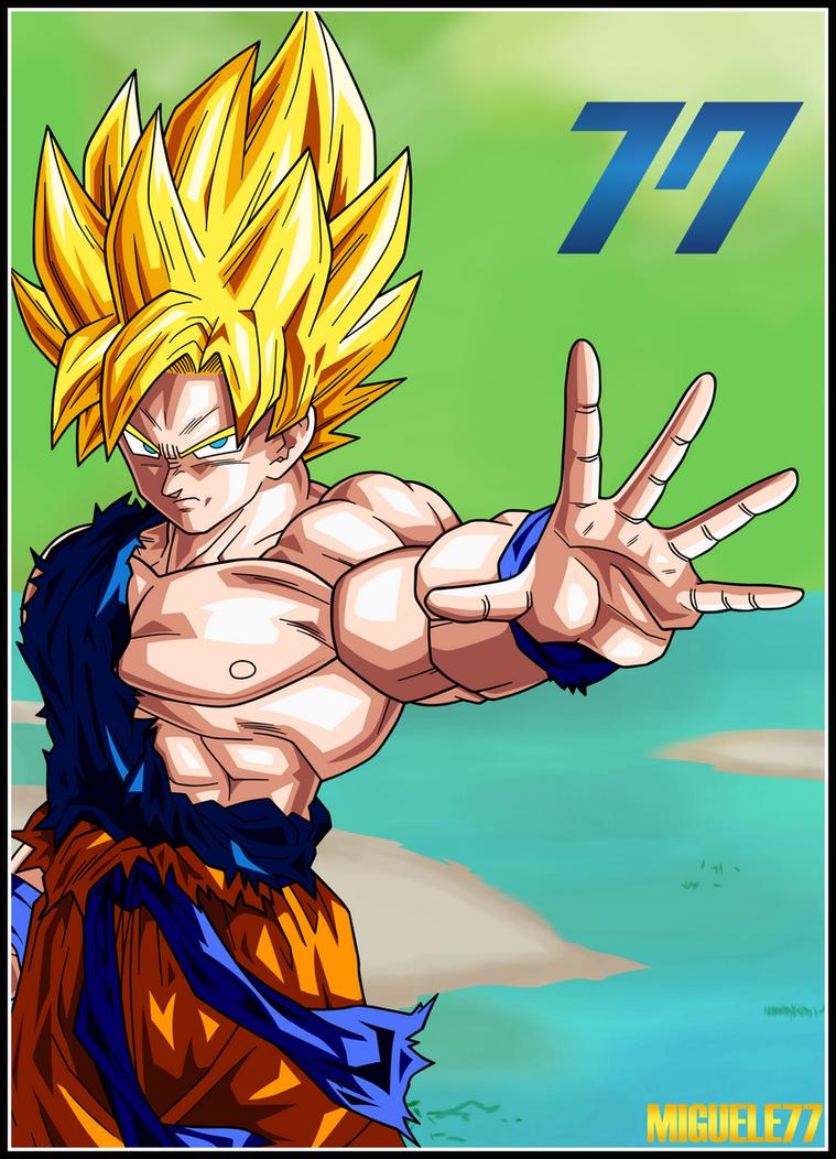 Goku - Dragon Ball Xenoverse by Miguele77