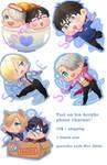 Yuri on Ice!! phone charm preorder