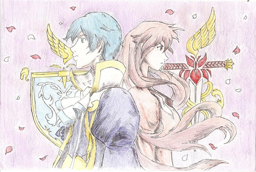 Romeo x Juliet - Roses vs Irises by lupus-stellam