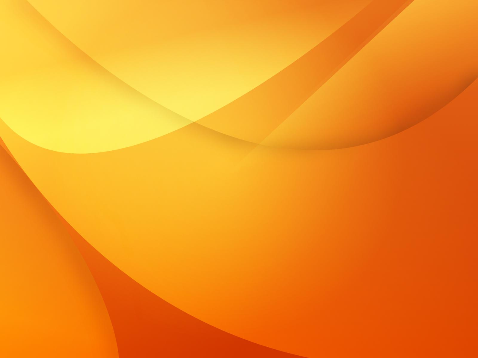 Light orange polycotton