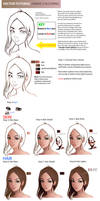 Vector Tutorial:Anime Coloring by TAHOpaints