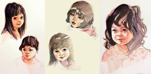 Daughters Portrait Set
