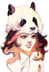 Panda Hat Girl