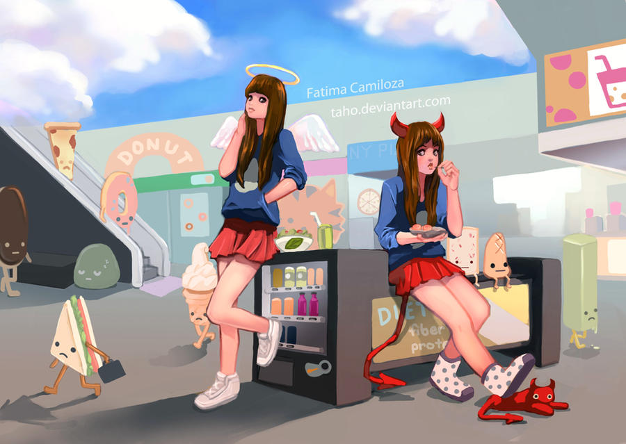 Kimiko and Komiko by taho