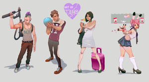 Character Design: Set 1