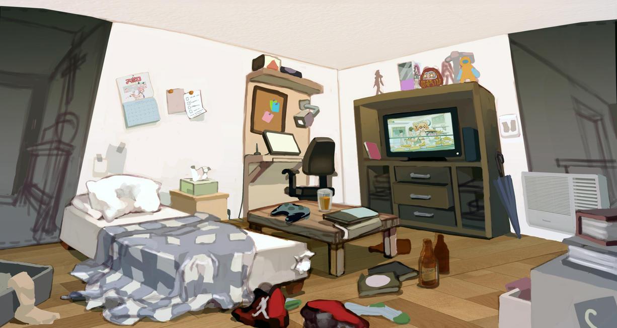 Visual Development Guys Room by taho on DeviantArt