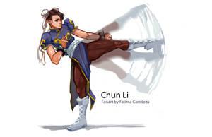 Chun Li Fanart