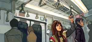 On the Train by taho