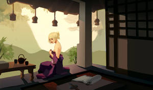 OC Commission: Shiori by taho