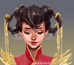 Chinese Hair Ornaments by taho