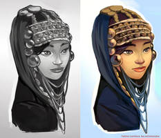 Akha Tribal Girl