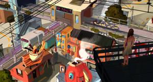 Urban Chaos by taho