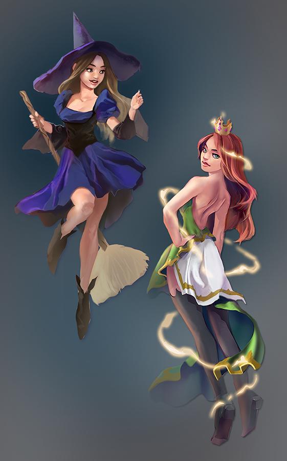 Sorceress by taho