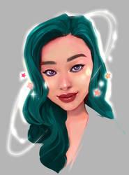 Catherine Portrait by taho
