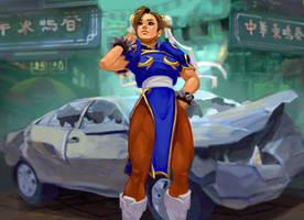 Chun-Li: Bonus Stage