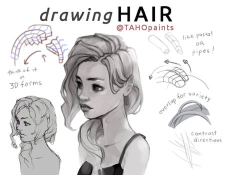 Mini Tutorial: Hair 01
