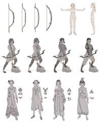 Ethnic China Warrior Girl Pamir
